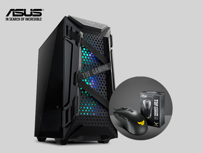 [ASUS] TUF Gaming GT301 케이스 구입시 게이밍마우스 증정!